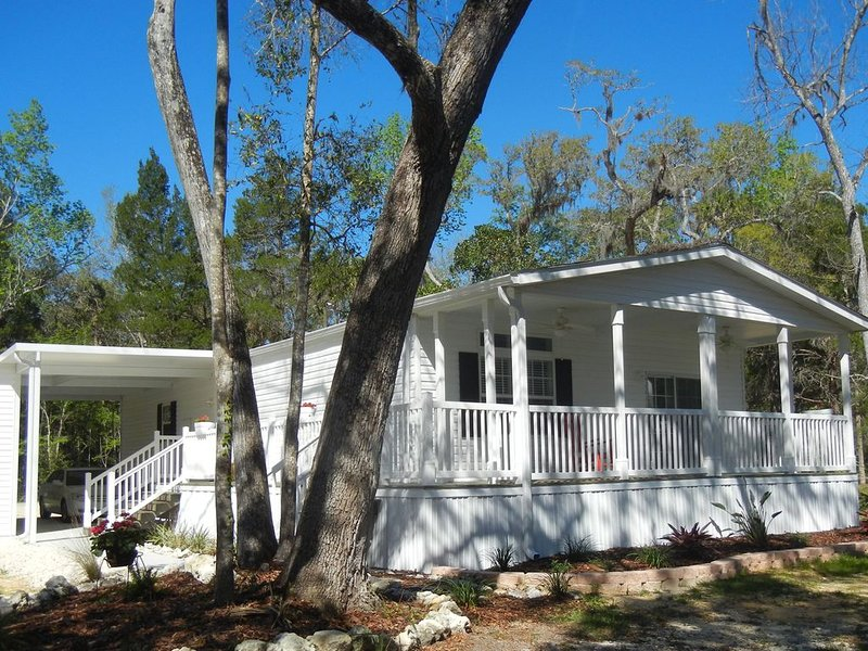 New Lakeside 3/2 Vacation Rental!! A Must See!, vacation rental in Homosassa