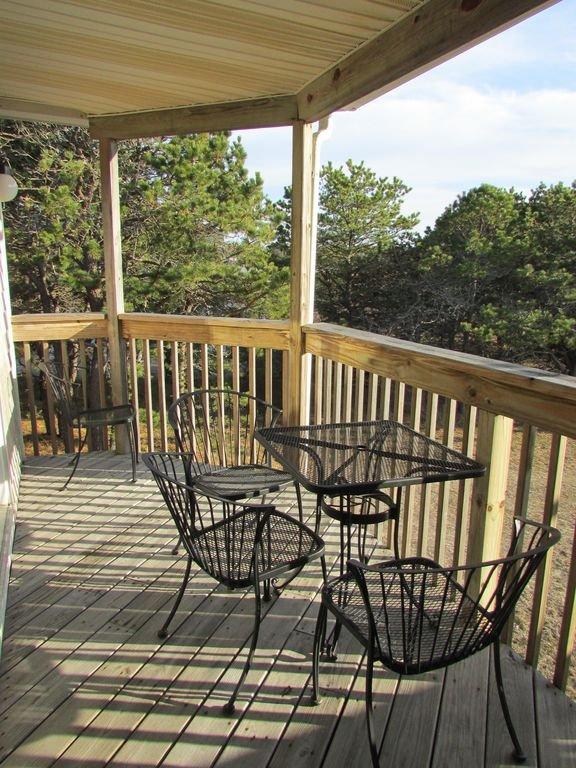Private Balcony, facing Cape Cod Bay