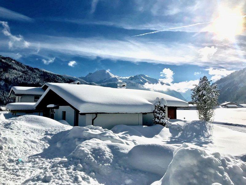 Das Ferienhaus: Modernes Kleinod mit grandiosem Bergblick, einmaliger Lage&Sauna, location de vacances à Achenkirch