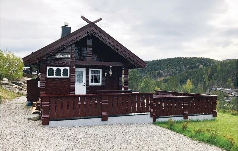 2 Zimmer Unterkunft in Mykland, holiday rental in Amli