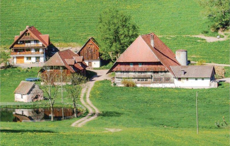 1 Zimmer Unterkunft in Hornberg-Reichenbach, aluguéis de temporada em St. Georgen im Schwarzwald