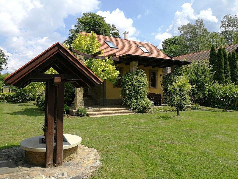 Modern eingerichtetes, klimatisiertes, exlusives Ferienhaus. – semesterbostad i Rackeve