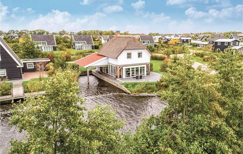 3 Zimmer Unterkunft in Giethoorn, casa vacanza a Wanneperveen