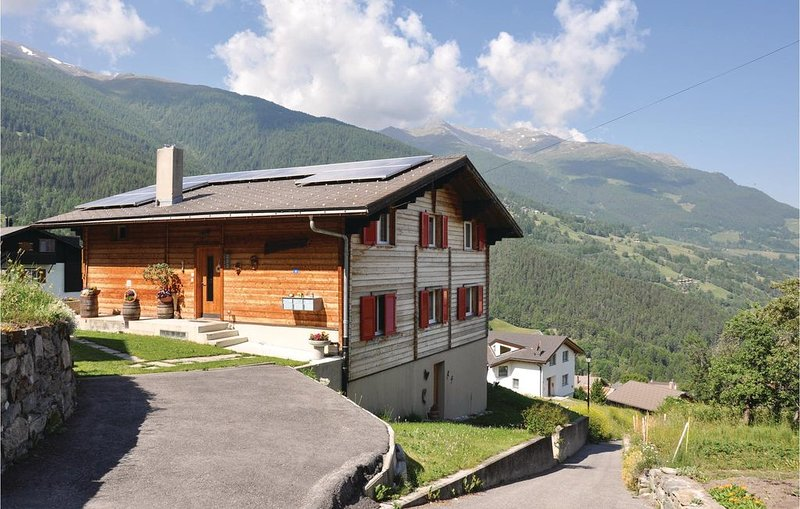 4 Zimmer Unterkunft in Bürchen, location de vacances à Eischoll