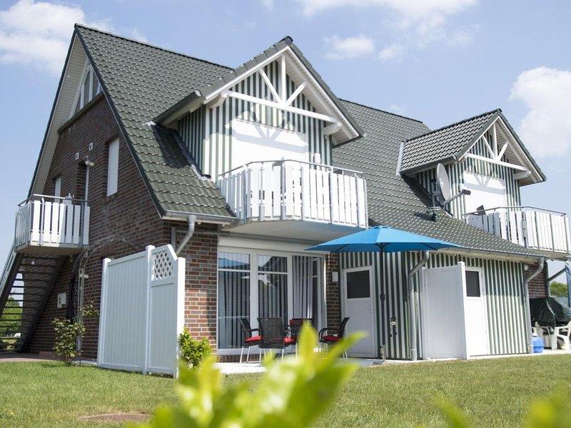 BUT86C - Luxuriöse ruhig gelegene Ferienwohnung mit Terrasse für 4 Personen – semesterbostad i Cuxhaven