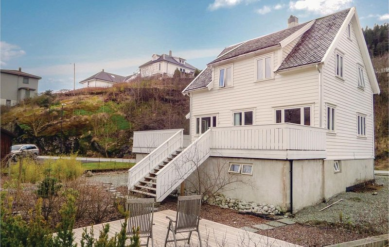 3 Zimmer Unterkunft in Sauda, casa vacanza a Rogaland