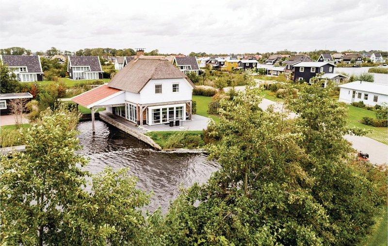 3 Zimmer Unterkunft in Giethoorn, alquiler vacacional en Hasselt