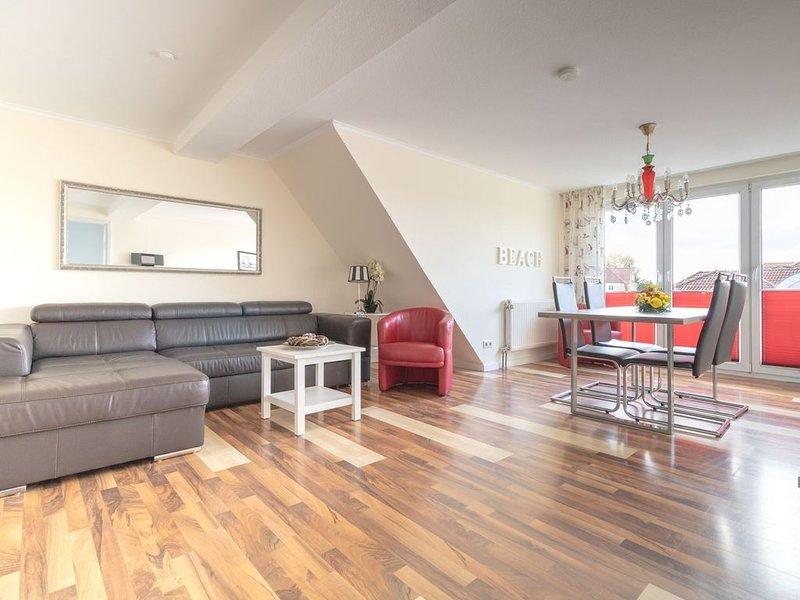 3-Raum Ferienwohnung im Haus Godewind in Binz, Strandkorb inkl. Mai-Sept., holiday rental in Lancken-Granitz