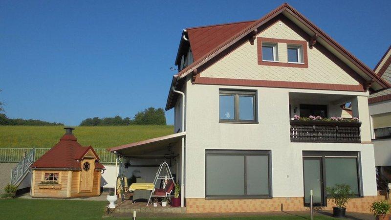 Casa de huéspedes con instalaciones al aire libre