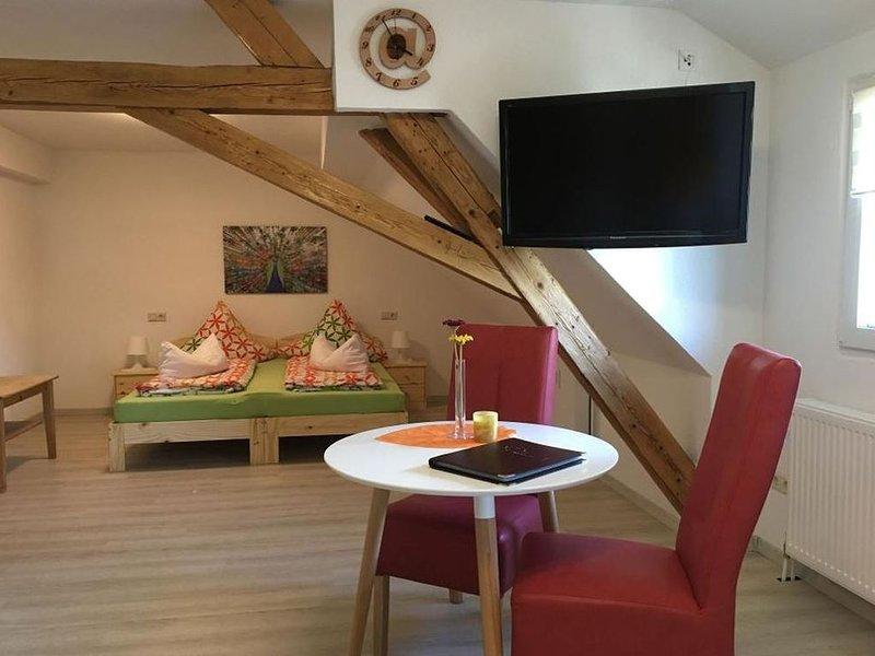 Appartment Schwarzwaldblick, 40 qm, 1 Wohn-/Schlafzimmer, max. 2 Personen, vacation rental in Endingen