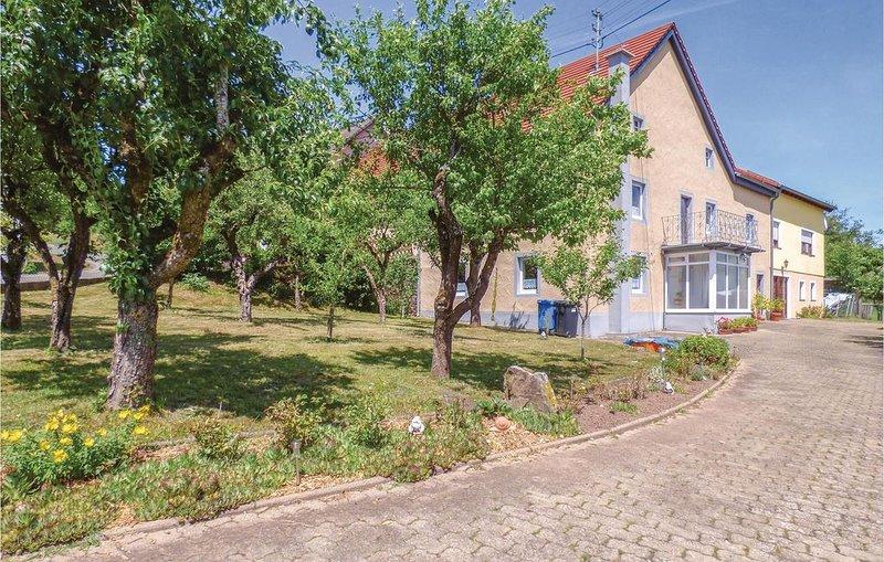 3 Zimmer Unterkunft in Arzfeld, vacation rental in Orlenbach