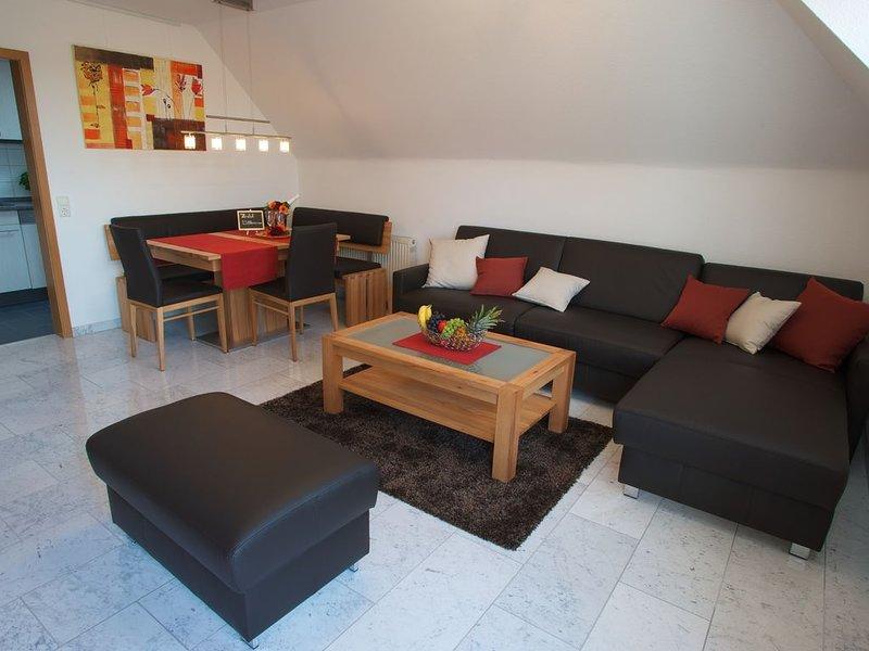 Super schönes, 2 Zi. Apartment. 10Km bis Ludwigsburg, 20Km bis Stuttgart, Ferienwohnung in Fellbach
