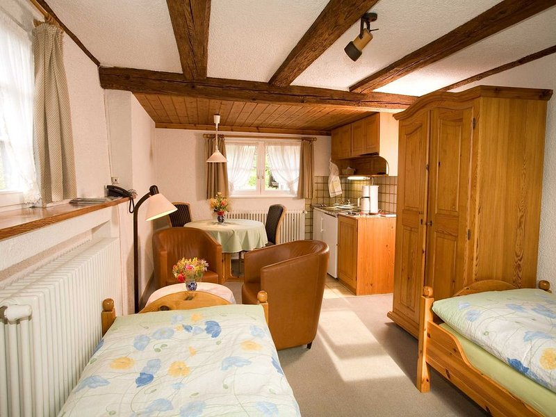 Appartement A3, 26qm, 1 Wohn-/Schlafzimmer, max. 2 Personen, location de vacances à Britzingen