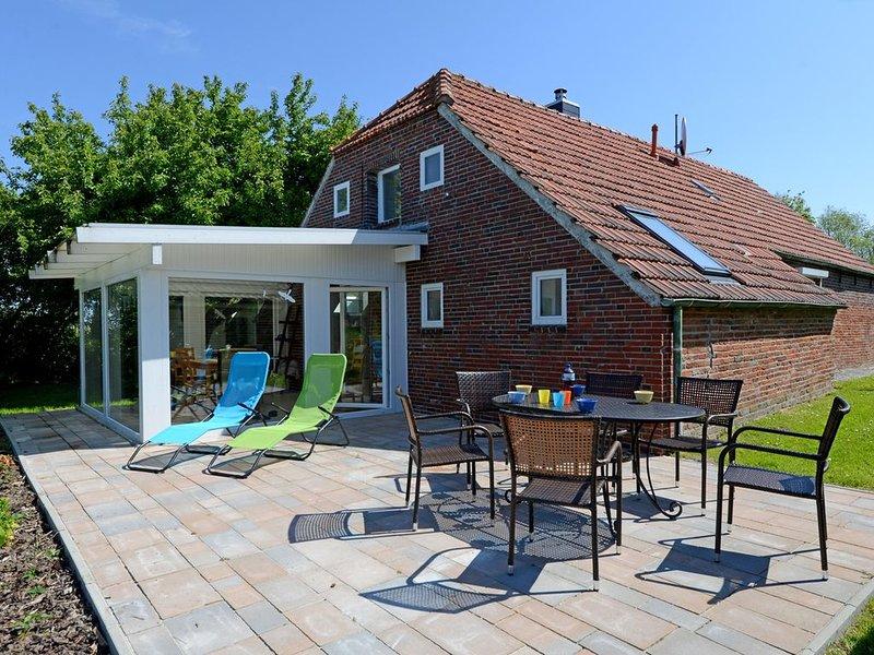 gemütliches Friesenhaus mit Garten und Wintergarten, ruhige Lage, Strandnähe, location de vacances à Neuharlingersiel