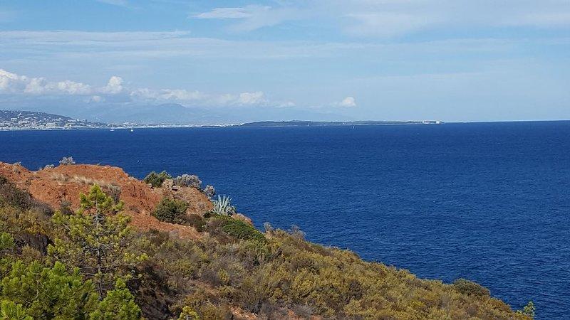Meersicht zwischen Agay und Cannes