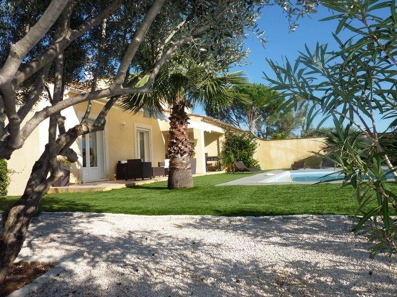 Charmante villa au calme, avec piscine chauffée 6/8 personnes Golfe St Tropez, location de vacances à Plan de la Tour
