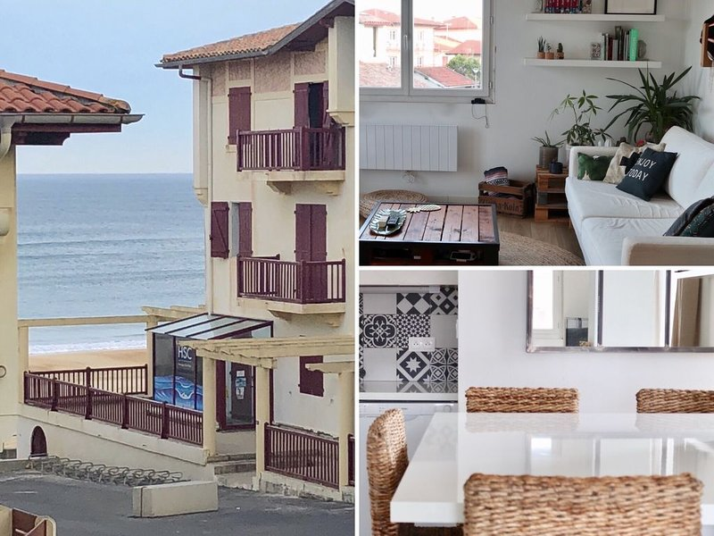 Appartement T2 vue mer, holiday rental in Soorts-Hossegor