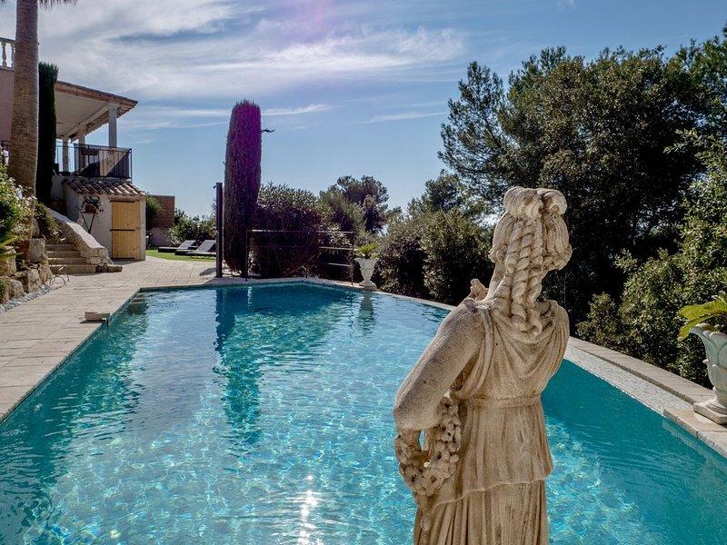 Appartement -  Sauna, jacuzzi, piscine à débordement - Fr/En/Ita, alquiler de vacaciones en Cagnes-sur-Mer