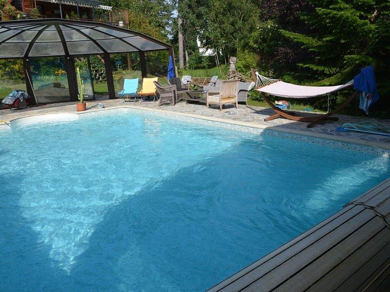 HAVRE DE PAIX EN FAMILLE ou ENTRE AMIS, grande villa avec PISCINE DECOUVRABLE, holiday rental in Neufchatel-Hardelot