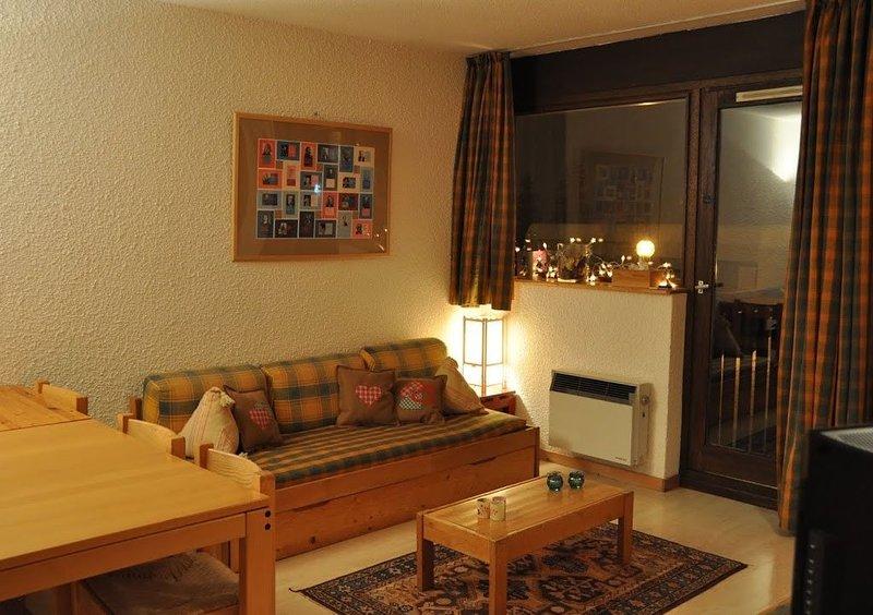 Appartement de famille 2 salles de bain :-)  et tout confort au pied des pistes, casa vacanza a Araches-la-Frasse