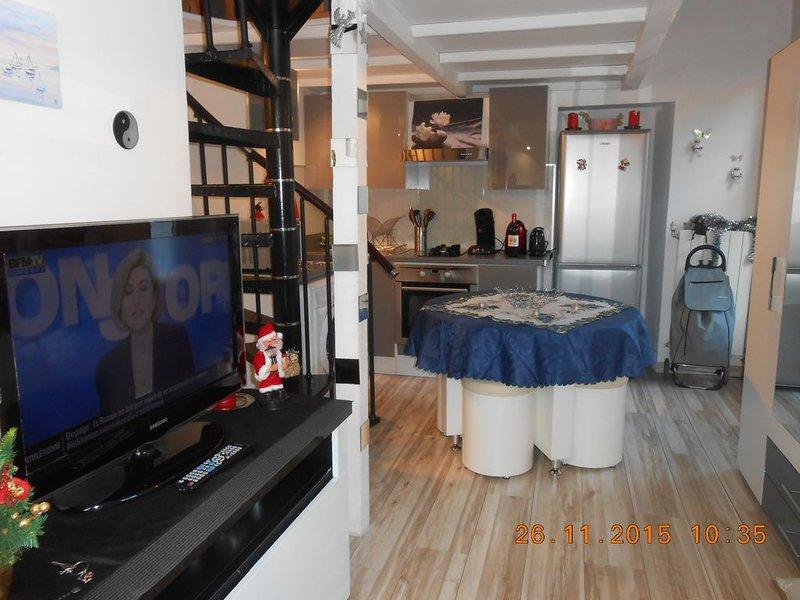 CHARMANT STUDIO à 100m de Ia PLAGE, holiday rental in Villefranche-sur-Mer