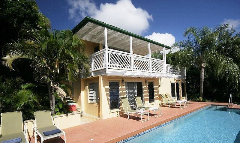 Well priced private villa - Swim in your private lap pool, A/C in all rooms!, vacation rental in St. John