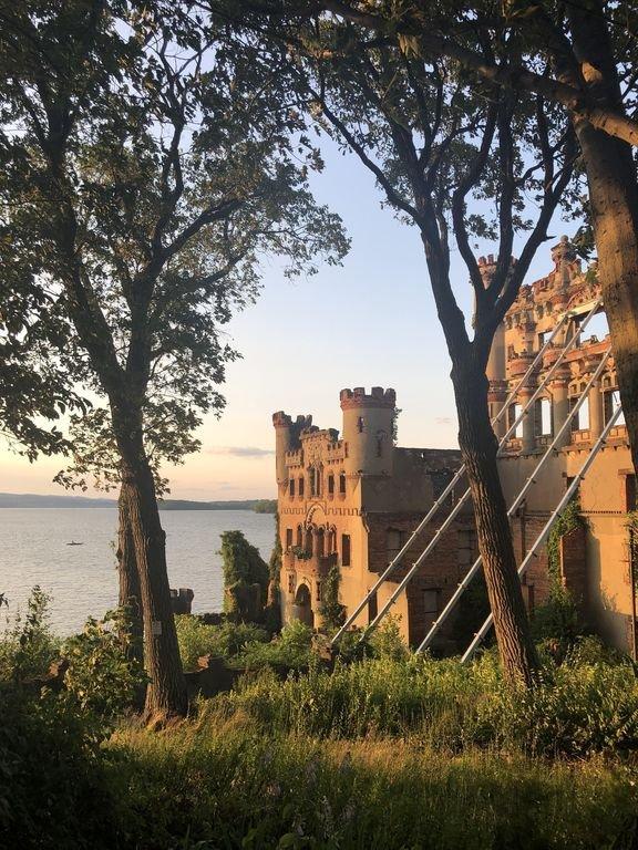 Localmente conhecido como Castelo de Bannerman. Um lugar mágico ao pôr do sol.