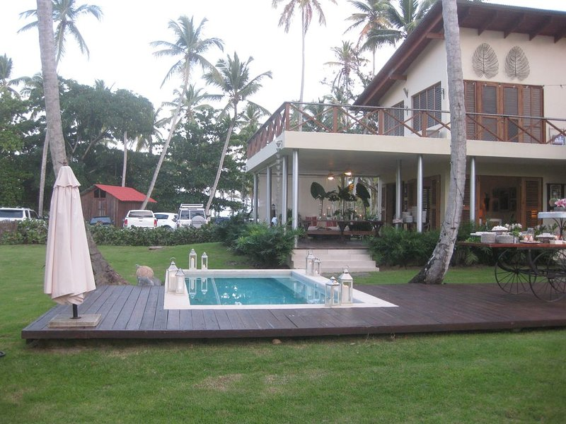 Amazing Villa steps from the Beach ! March Specials !, holiday rental in Samana Province