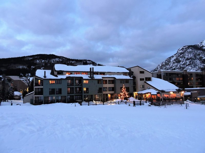100% Ski In & Ski Out - no walking, for real!, holiday rental in Frisco