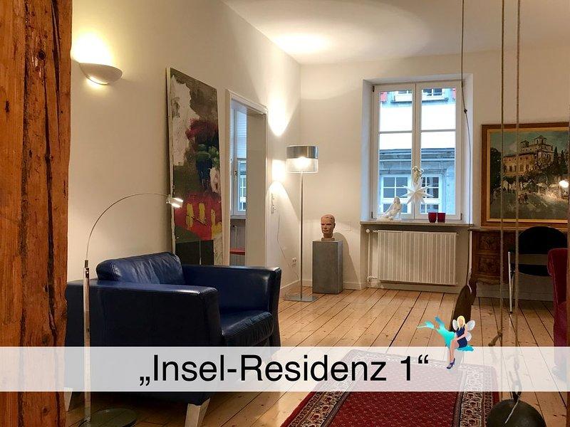 Neu renoviertes Altstadt Herrenhaus, Lindau-Insel, großzügig und stilvoll, holiday rental in Wasserburg