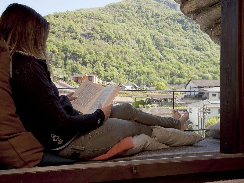 Wie im Adlerhorst träumen unter dem Tessiner Himmel! - Corona safe area!, location de vacances à Bosco Gurin