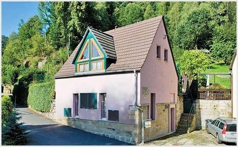 Haus am Liethenbach - Ferienhaus/-wohnung in Bad Schandau - Sächsische Schweiz, vacation rental in Decin