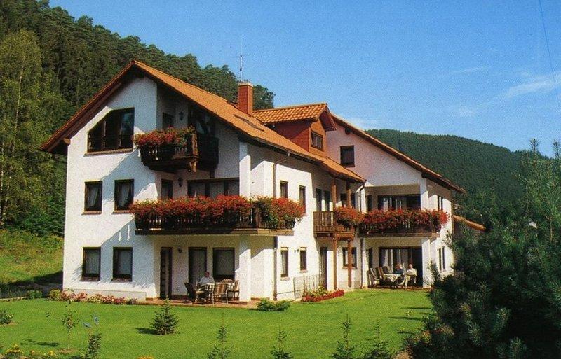 Komfortable FW  (Nr.2, EG) in ruhig gelegenem Ferienhaus, Naturpark Pfälzerwald, location de vacances à Kindsbach
