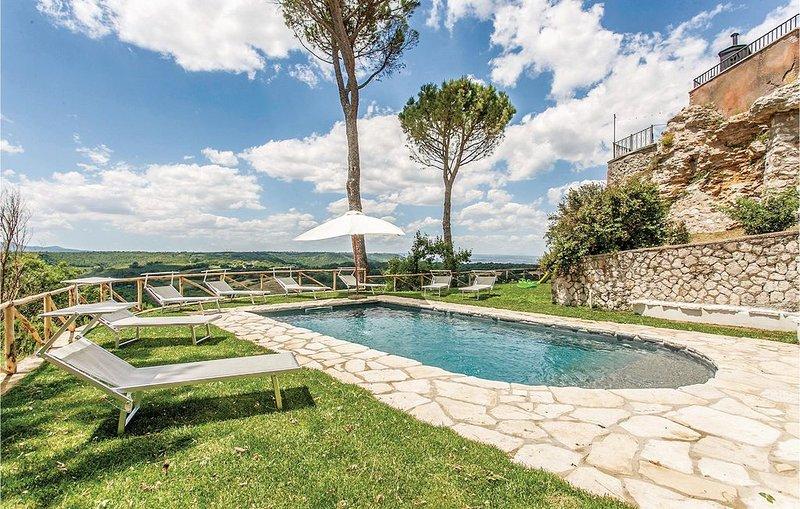 6 Zimmer Unterkunft in Orte (VT), vacation rental in San Liberato