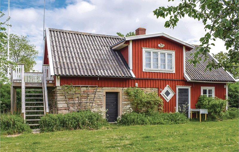 1 Zimmer Unterkunft in Löttorp, aluguéis de temporada em Monsteras