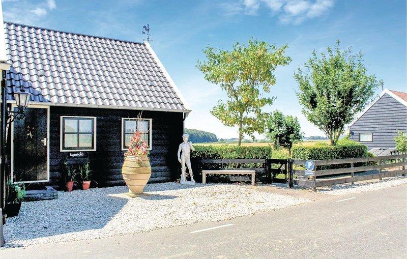 2 Zimmer Unterkunft in Zuid-Beijerland, alquiler vacacional en Heijningen