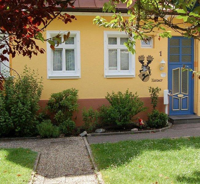 Ferienwohnung mit 90qm, 1 Schlafzimmer, separate Küche, max. 3 Personen, alquiler vacacional en Todtmoos