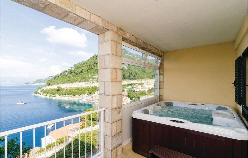 1 Zimmer Unterkunft in Sobra, location de vacances à Mljet Island