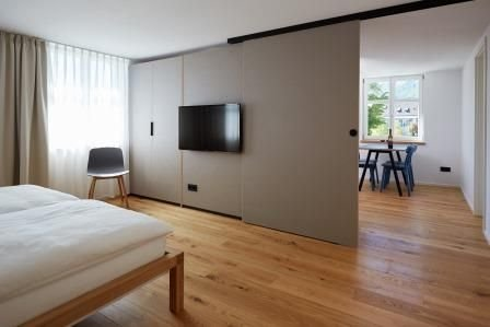 Apartment Höri, 39qm, 1 Schlafzimmer, 1 Wohn-/Schlafzimmer, max. 3 Personen, holiday rental in Canton of Schaffhausen