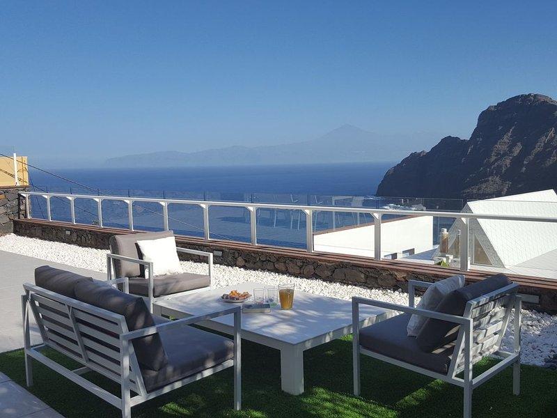 Luxuriöses Ferienhaus mit Panoramablick, vacation rental in La Gomera