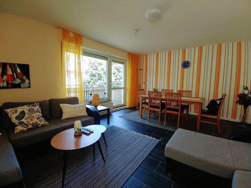 Sehr feine, geräumige  City-Wohnung in Koblenz, vacation rental in Lahnstein