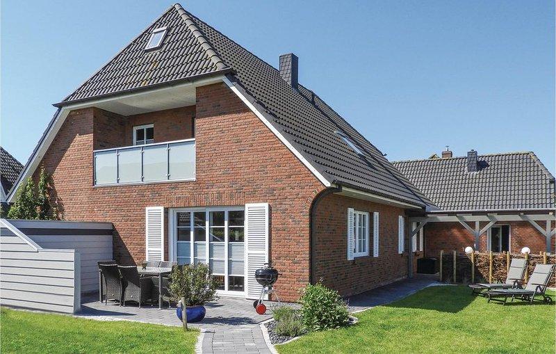 4 Zimmer Unterkunft in Dagebüll, casa vacanza a Ockholm