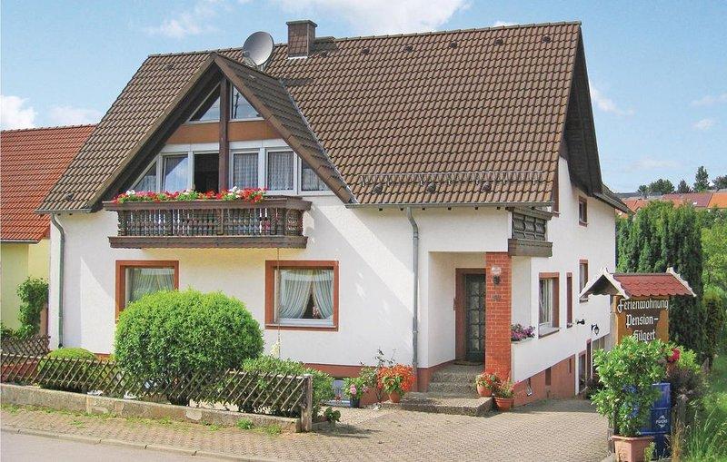 2 Zimmer Unterkunft in Greimerath, holiday rental in Weiskirchen