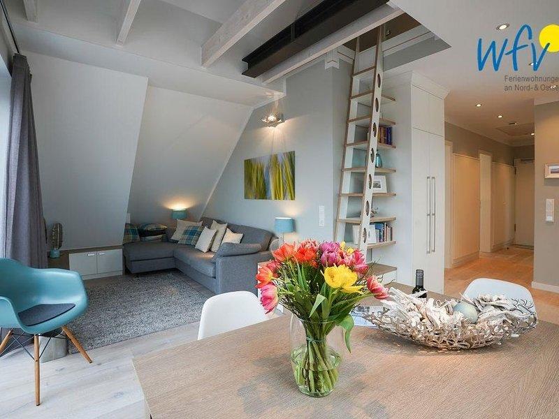 Luxuriöse Penthouse-Wohnung!, location de vacances à Norderney
