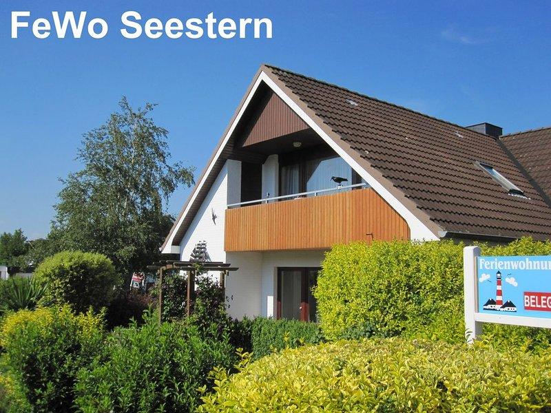 FeWo Seestern ... Zuhause im Urlaub, nur 500m bis zum Strand, WLAN, vacation rental in Heide
