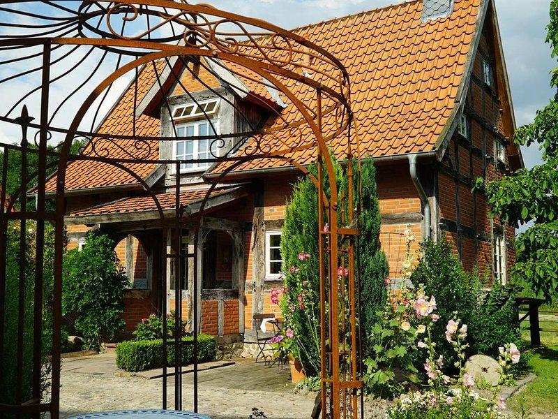 ****Ferienhaus im idyllischen Bauerngarten Hoyerhagen, vacation rental in Bruchhausen-Vilsen