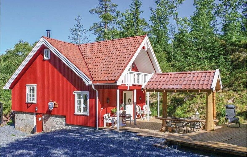 4 Zimmer Unterkunft in Søndeled, casa vacanza a Sundebru