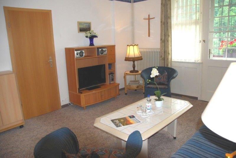 Ferienwohnung, 48qm, 1 Schlafzimmer, 1 Wohn-/Schlafzimmer, 1 sep. Küche, max. 3, holiday rental in Sankt Blasien