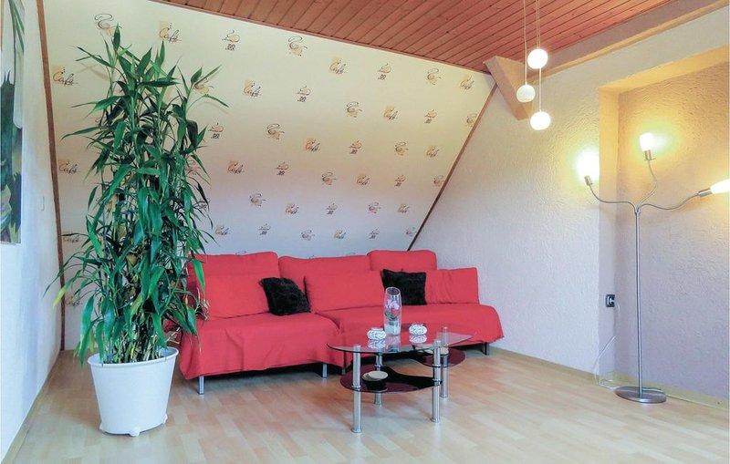 2 Zimmer Unterkunft in Meisburg, holiday rental in Malberg