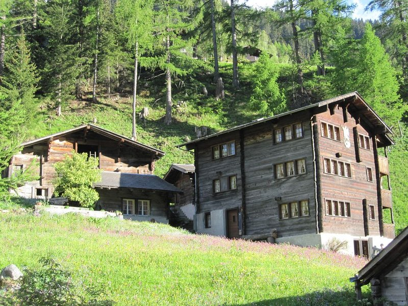 Chalet St. Michael 2, Ferienwohnung im Binntal, Wallis, vacation rental in Baceno